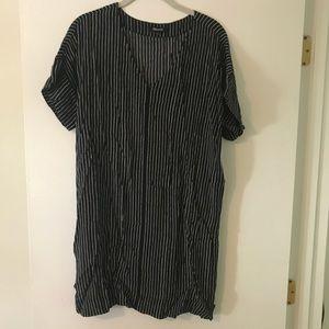 Madewell Stripe Shift Dress